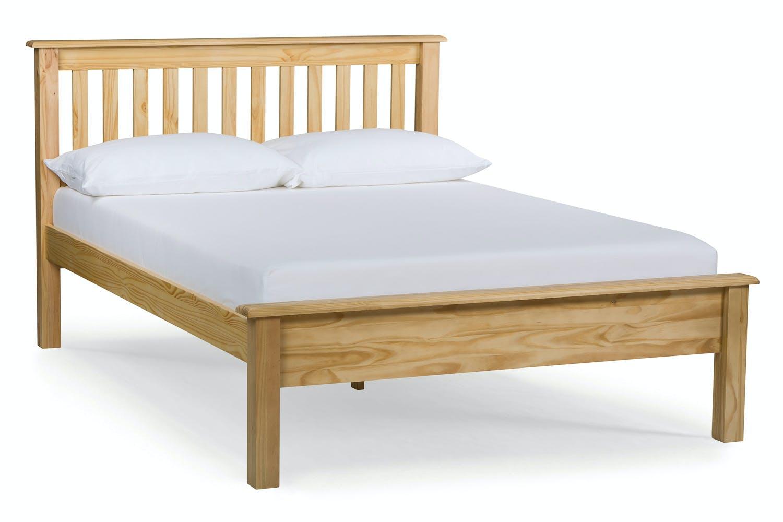 Shaker King Bed Frame   5ft   Natural   Harvey Norman Ireland