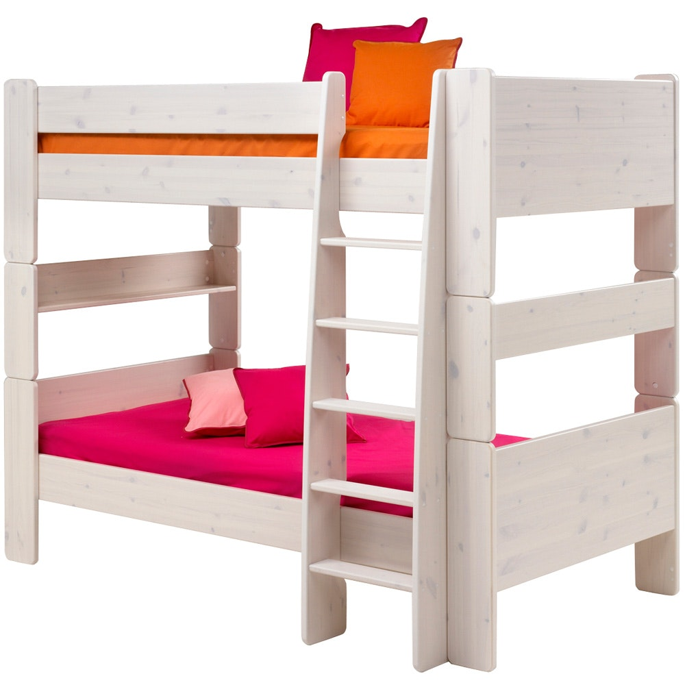 Popsicle Bunk Bed White Wash