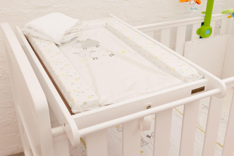 cot top changer white harvey norman ireland. Black Bedroom Furniture Sets. Home Design Ideas