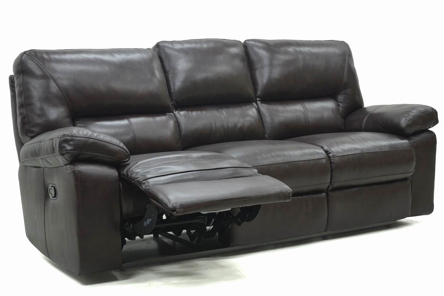 Cala 3-Seater Leather Recliner Sofa