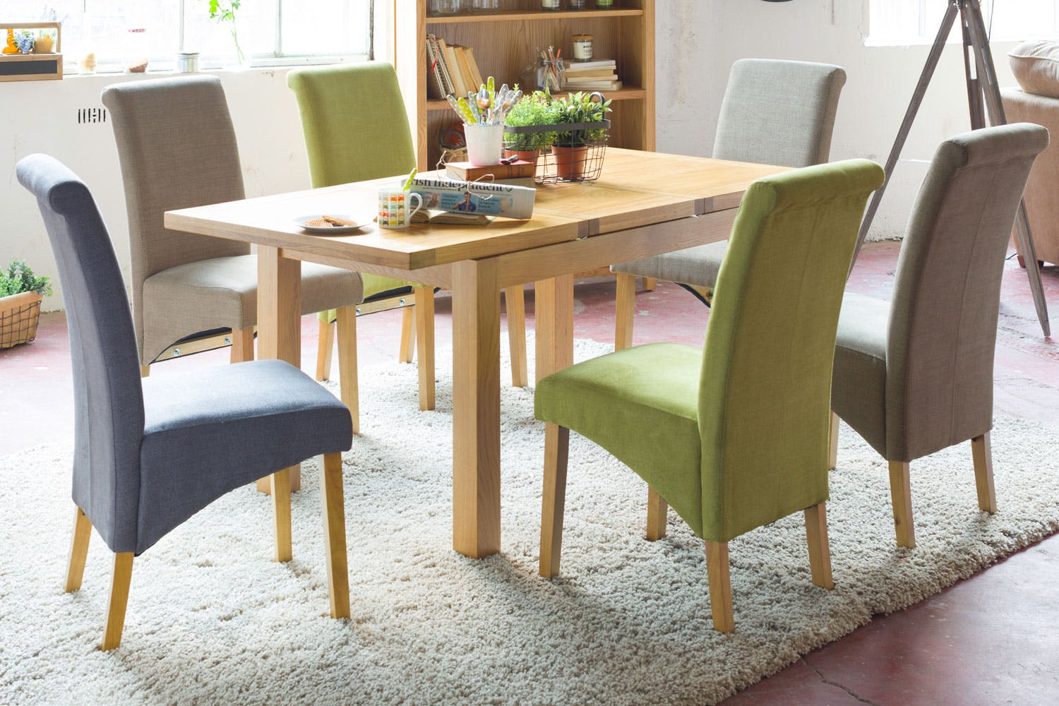 Crean 7 Piece Dining Set