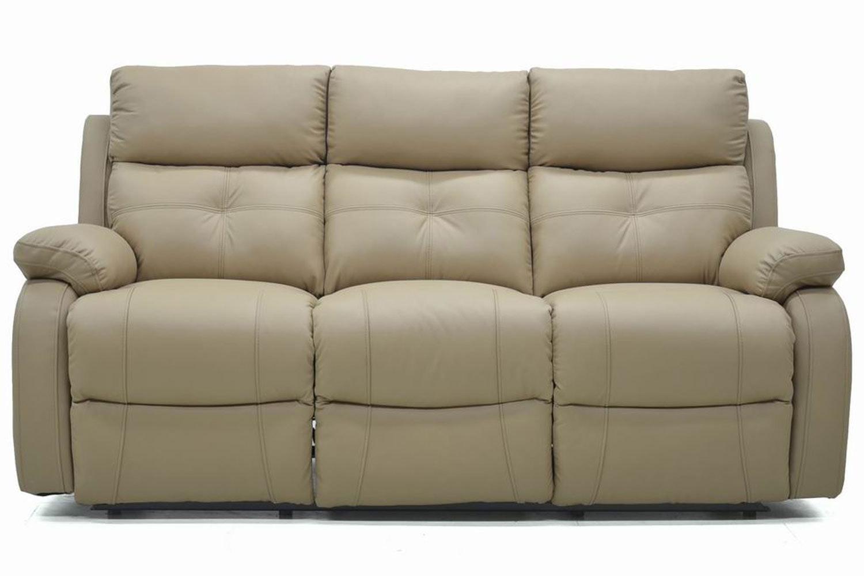 Mino 3 Seater Leather Recliner Sofa ...  sc 1 st  Harvey Norman & Mino 3 Seater Leather Recliner Sofa | Harvey Norman Ireland islam-shia.org