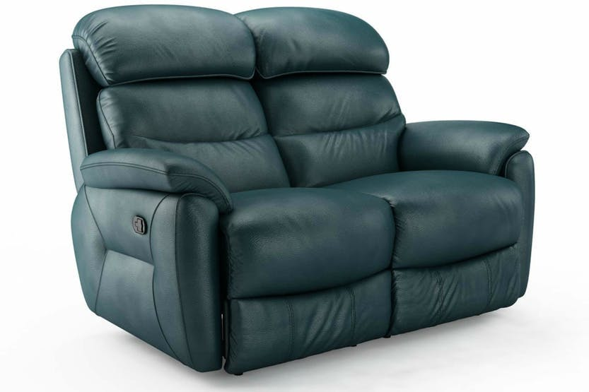 Strange Tyler 2 Seater Leather Recliner Sofa Bralicious Painted Fabric Chair Ideas Braliciousco