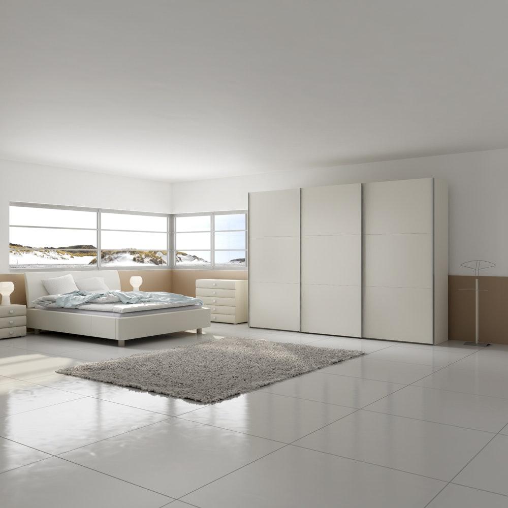 Jutzler Slideline 2.5m Wardrobe | White