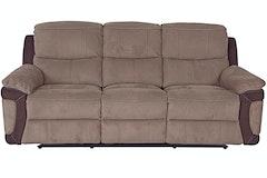 Andria 3-Seater Fabric Sofa