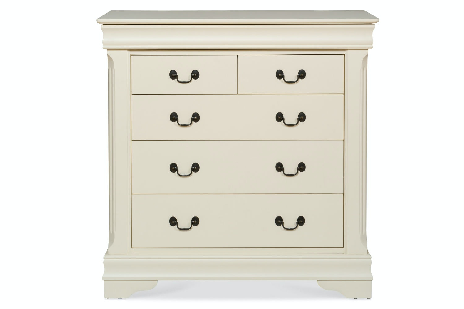 Chardonnay 3 + 2 Drawer Chest Cream