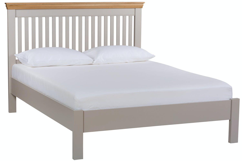 best authentic 35ab7 45d5a Ascott Double Bed Frame   Pebble Stone   4ft6