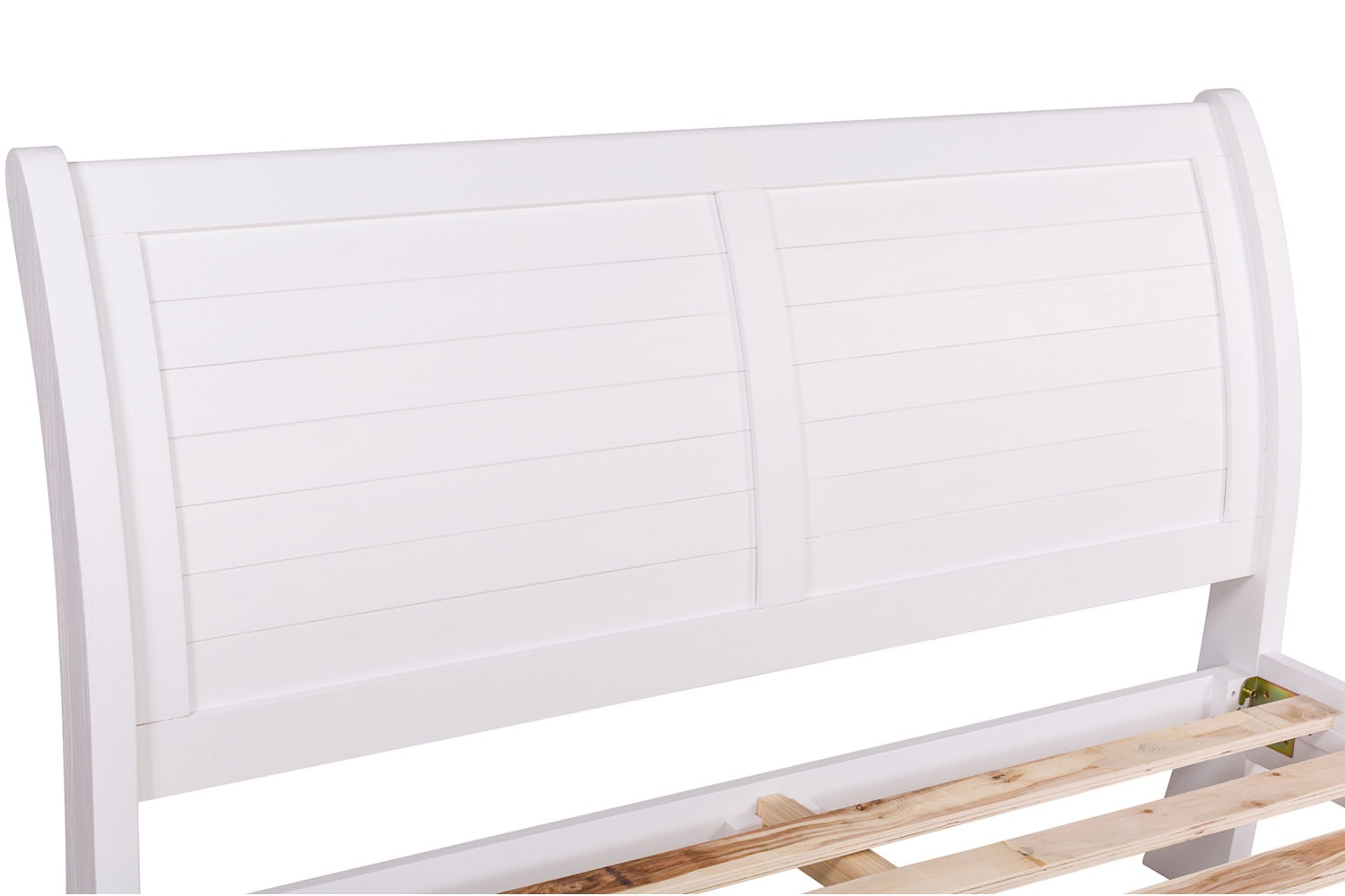 Gemstone King Bed Frame | 5ft | White