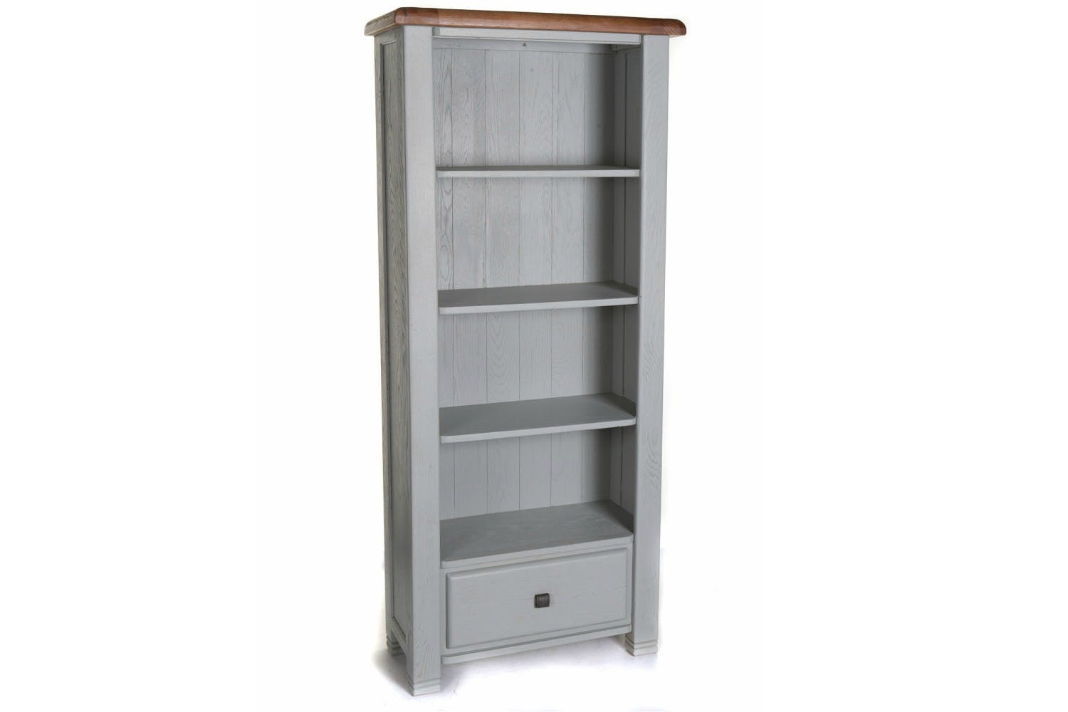 Queenstown Bookcase Painted Grey