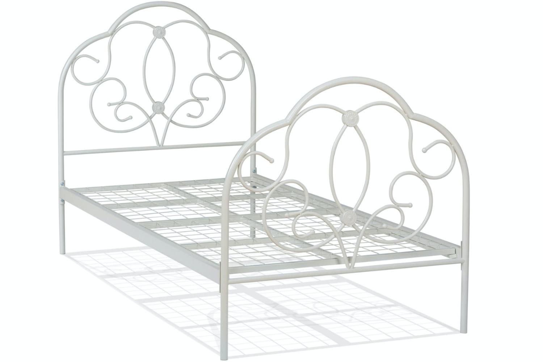 Georgina Single Bed Frame | Cream