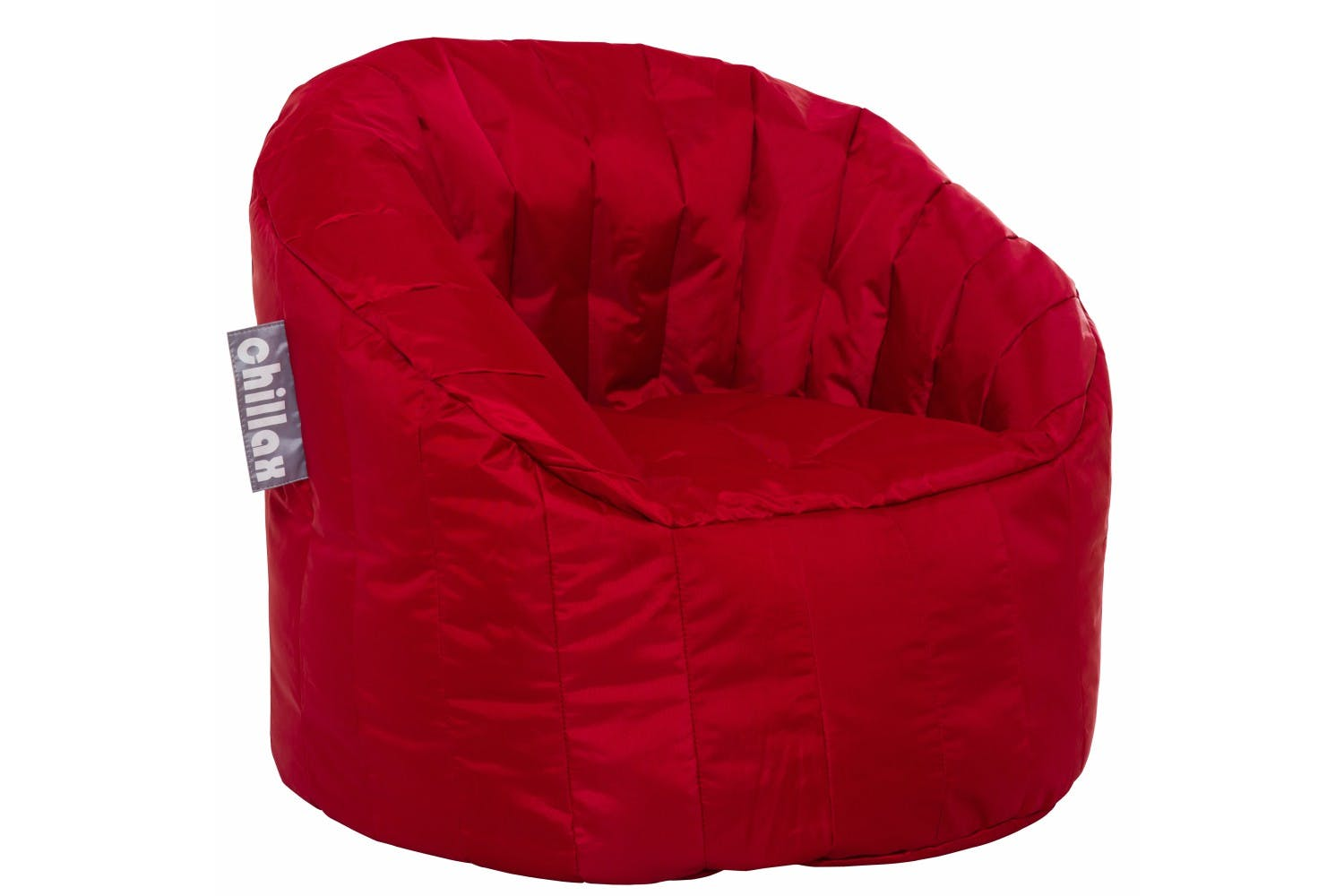 chillax kids tub chair bean bag  red  harvey norman ireland - chillax kids tub chair bean bag  red
