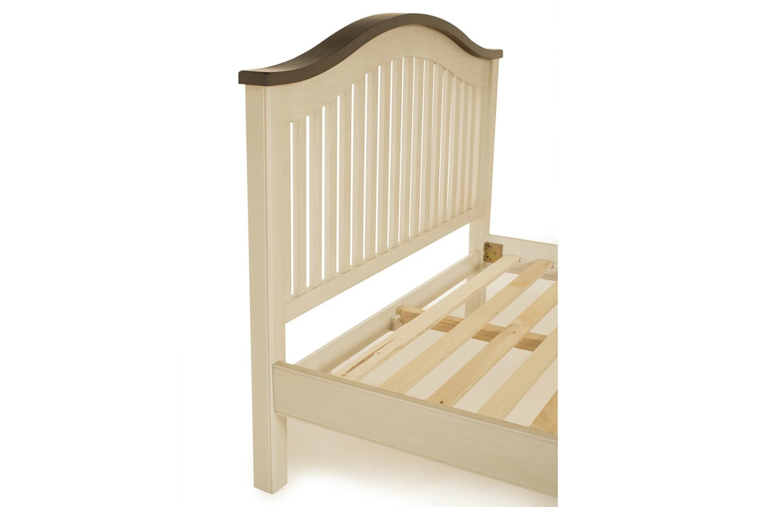 Wellington bed frame cream 4ft6 harvey norman ireland for Beds wellington