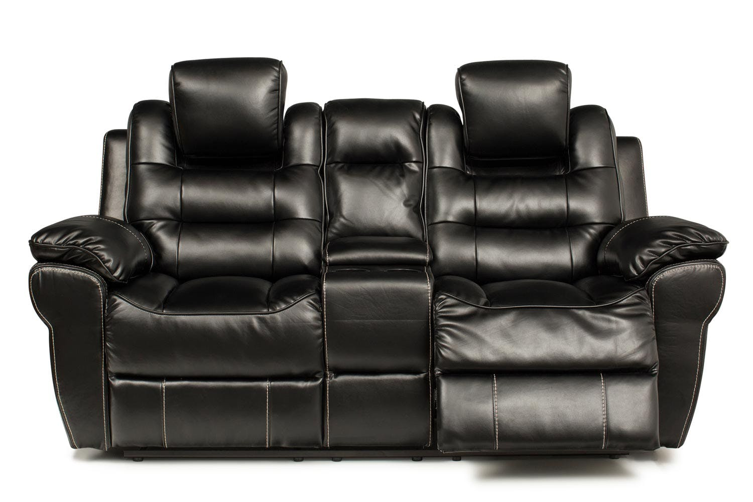 Baxter 2 Seater Recliner Electric Console