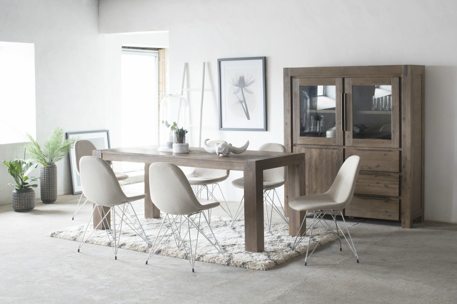 Livia Dining Chair Natural