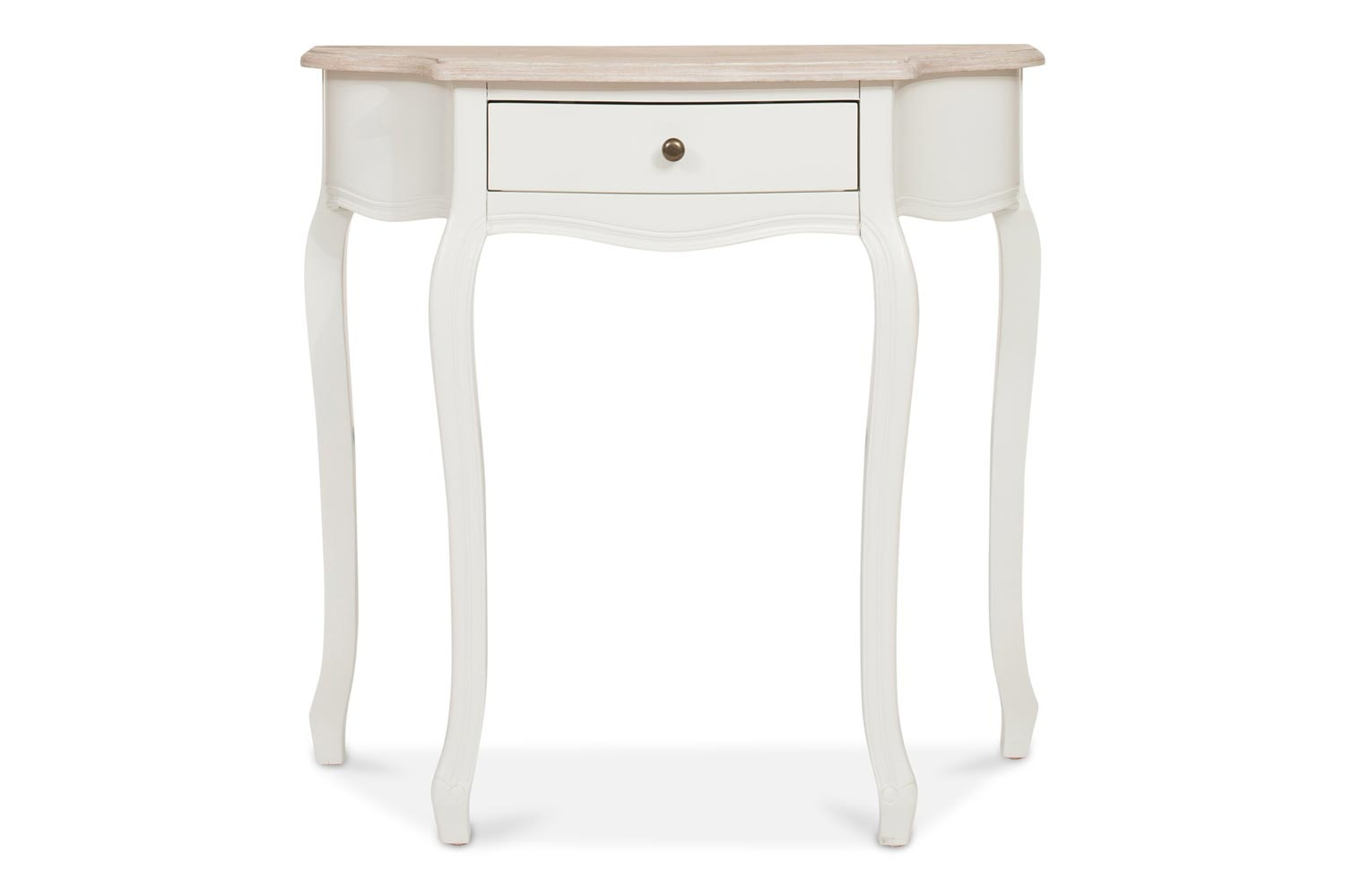half moon console table. Bouvard Half Moon Console Table B
