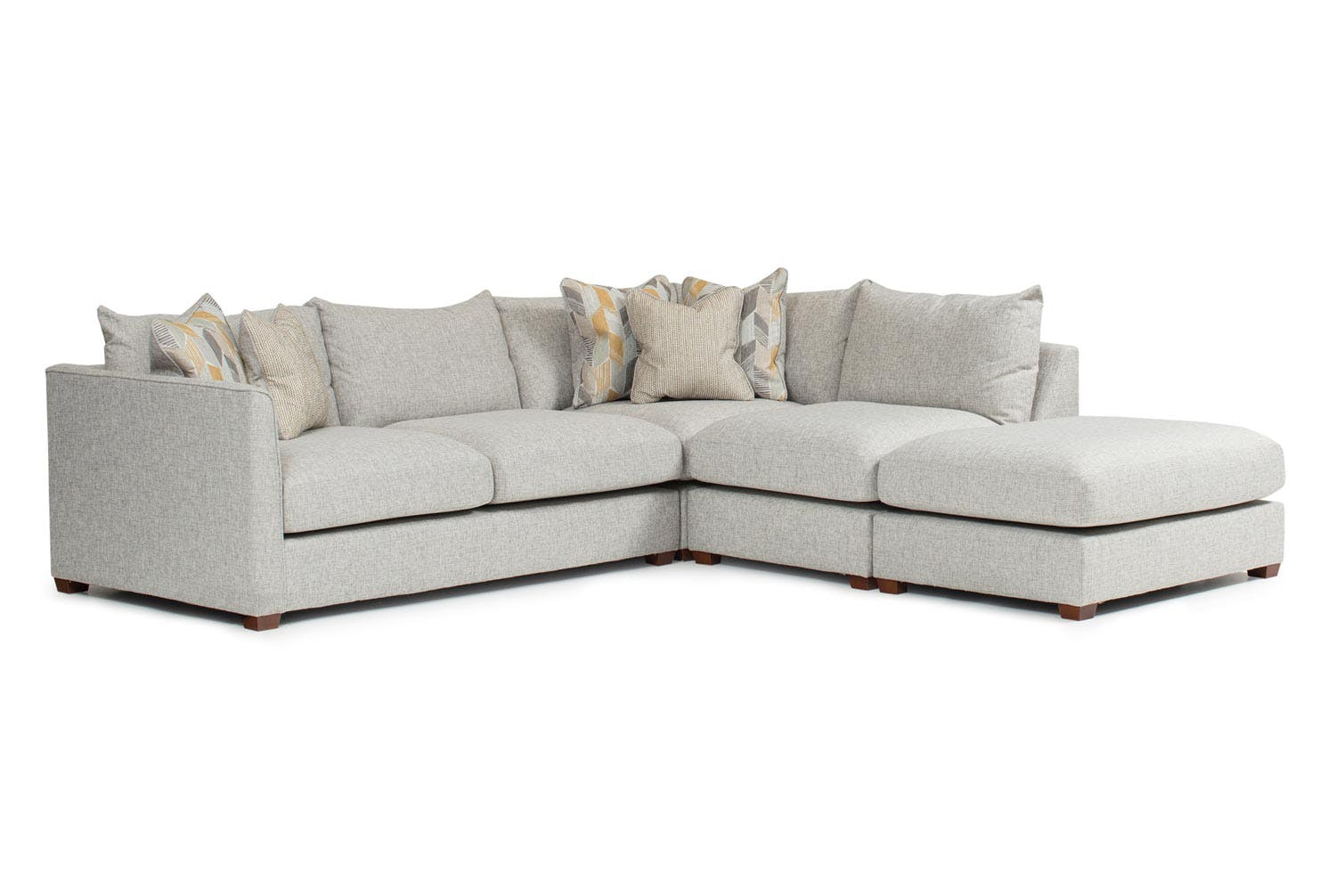 Faye corner sofa with chaise harvey norman ireland for Corner loveseats