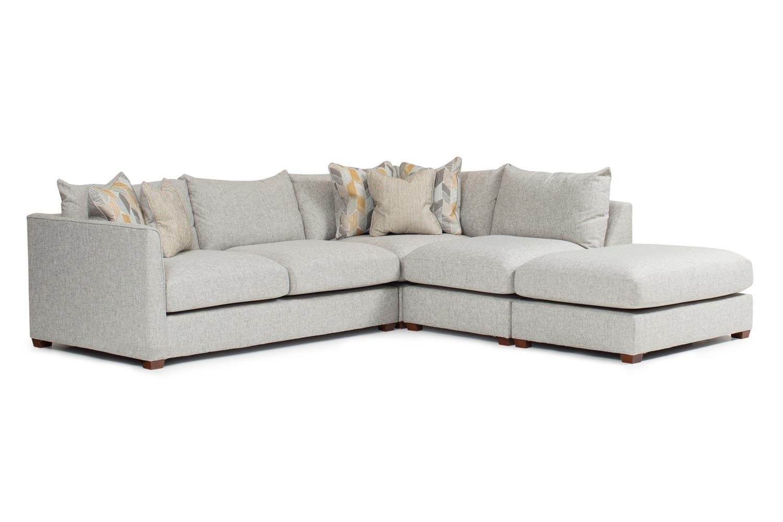 Faye Corner Sofa With Chaise  sc 1 st  Harvey Norman : chaise corner sofas - Sectionals, Sofas & Couches