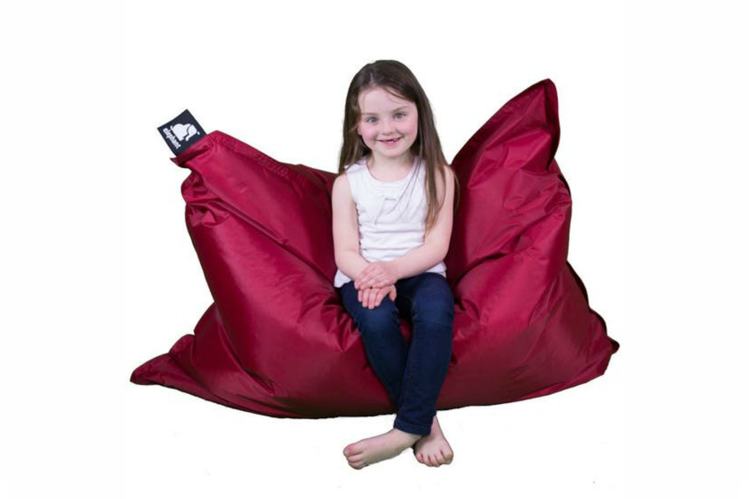 Elephant Junior Bean Bag Vibrant Red