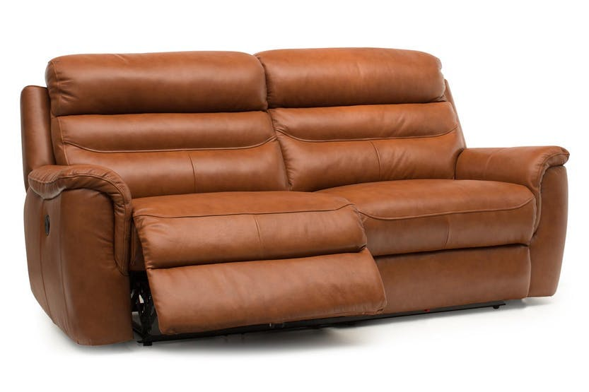 Bayle 3 Seater Leather Recliner Sofa | Harvey Norman Ireland
