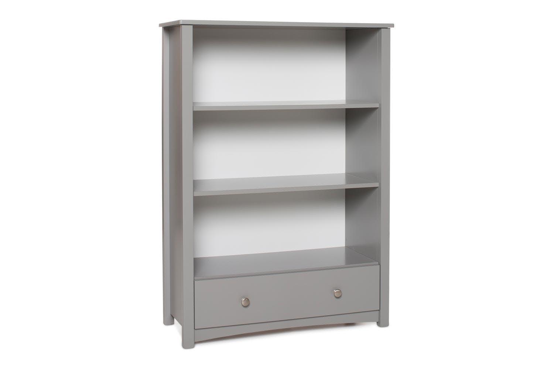 Urban Bookcase 1 Drawer Medium Dove Grey