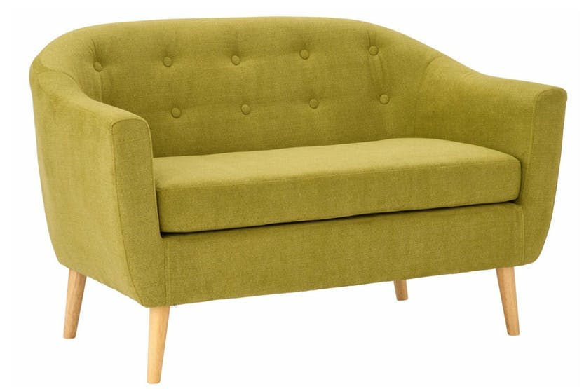 Harrison 2 Seater Sofa Olive Green