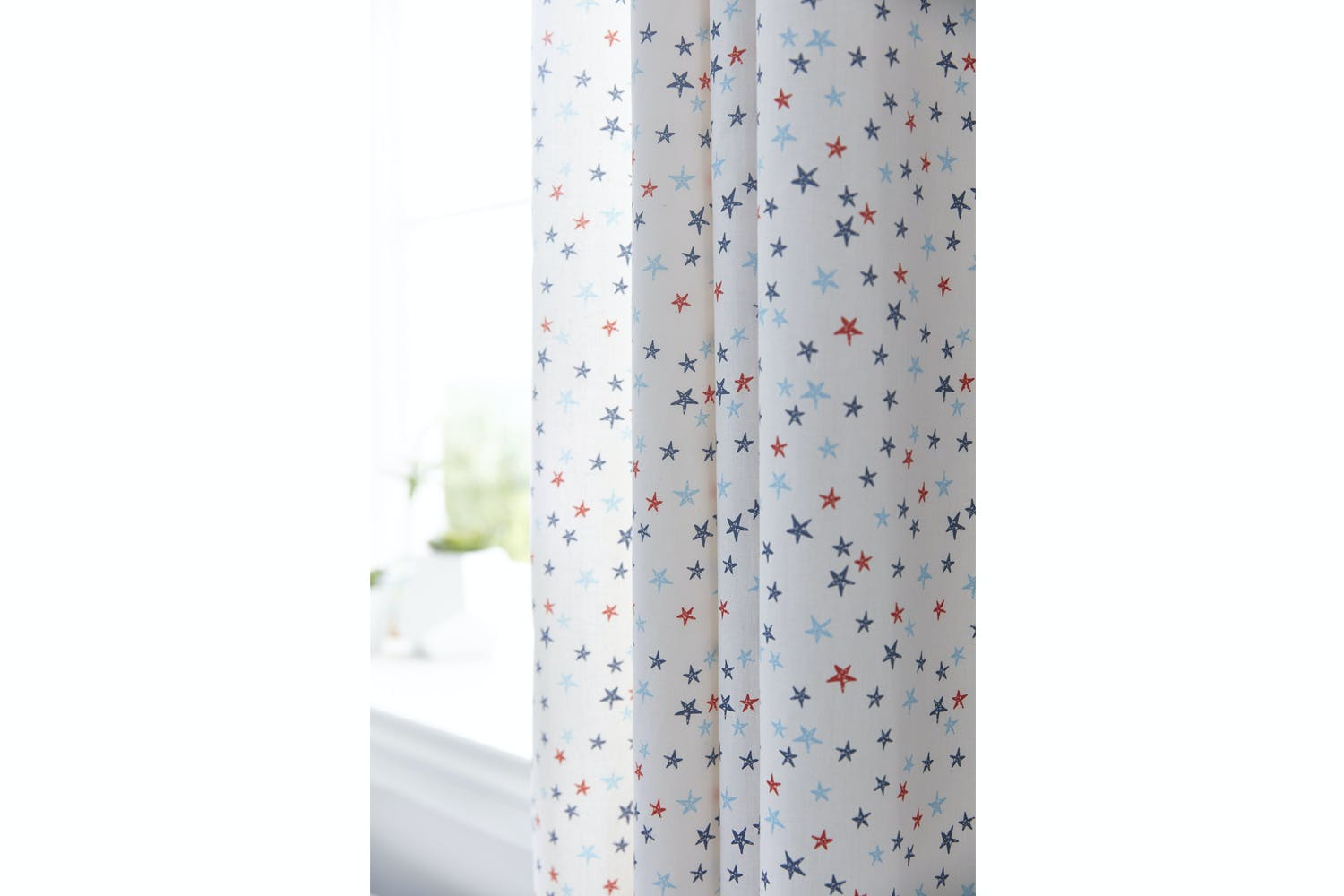 Star Cotton Print Curtain | Harvey Norman Ireland