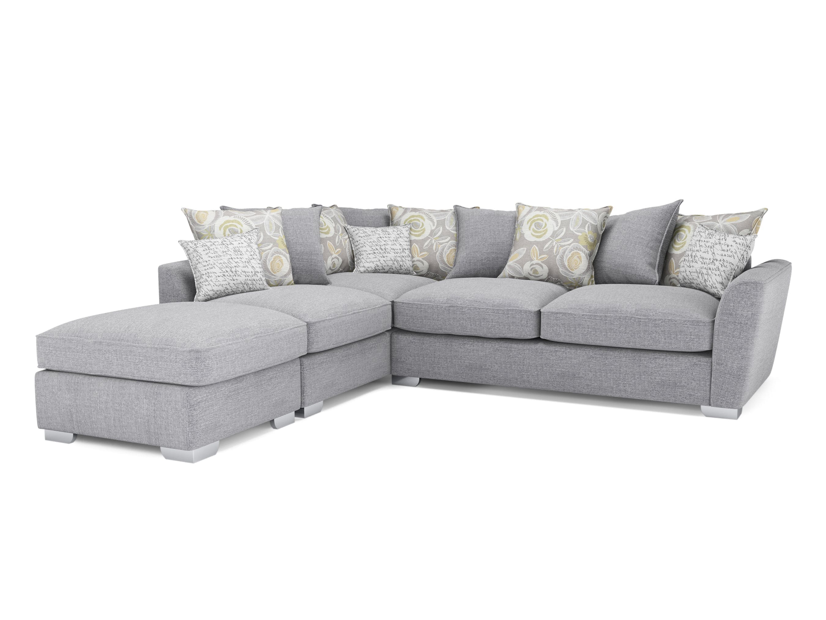 Fantasia Corner Sofa With Footstool | Harvey Norman Ireland