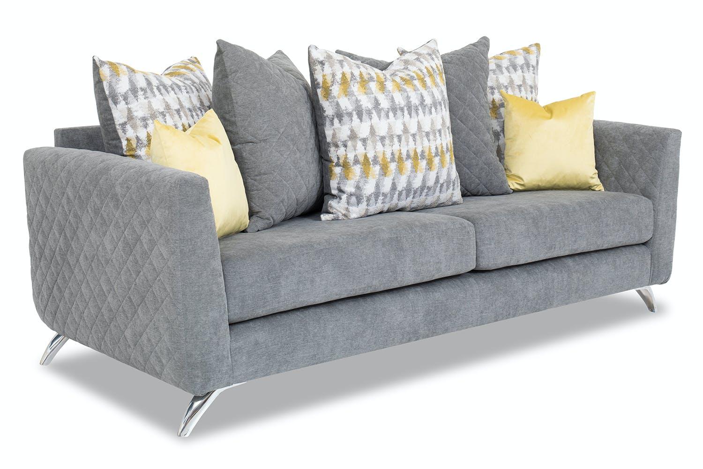 Lara 3 Seater Sofa Pillow Back