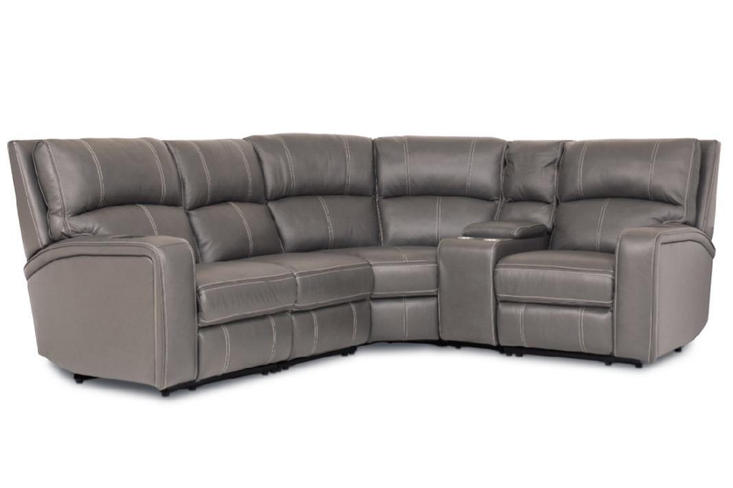 Esme Medium Corner Sofa with Console