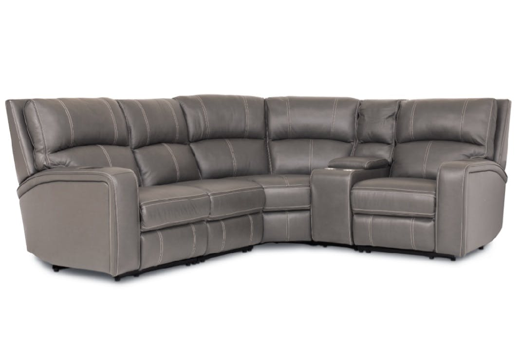 quality design 87529 15768 Esme Medium Corner Sofa with Console