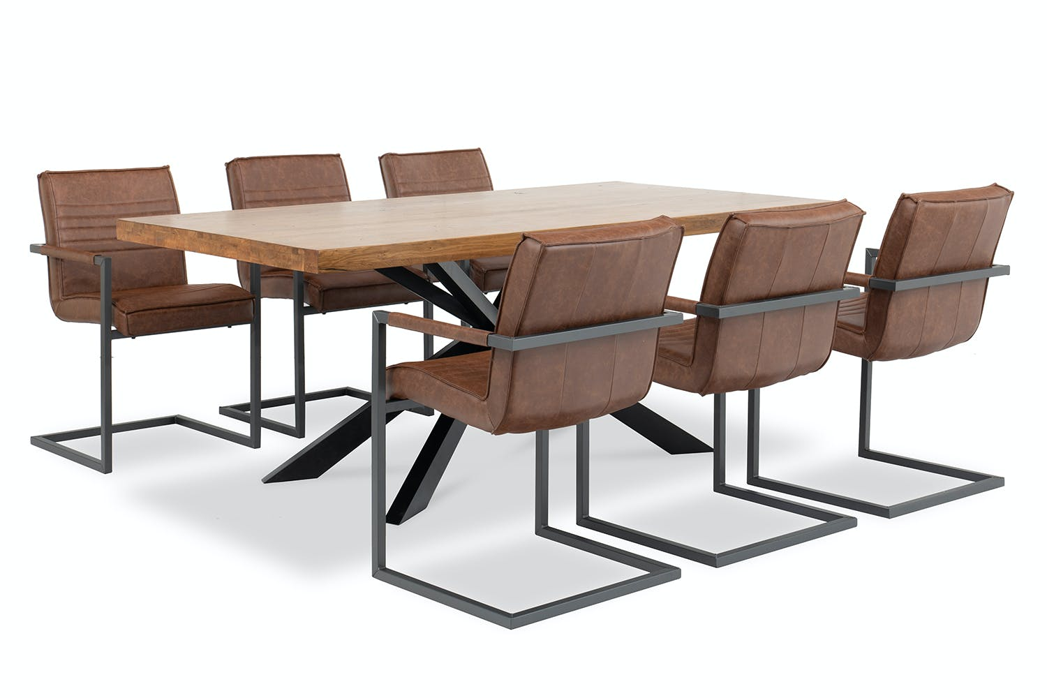 Navarre 7 Piece Dining Set Texas Chairs Harvey Norman Ireland