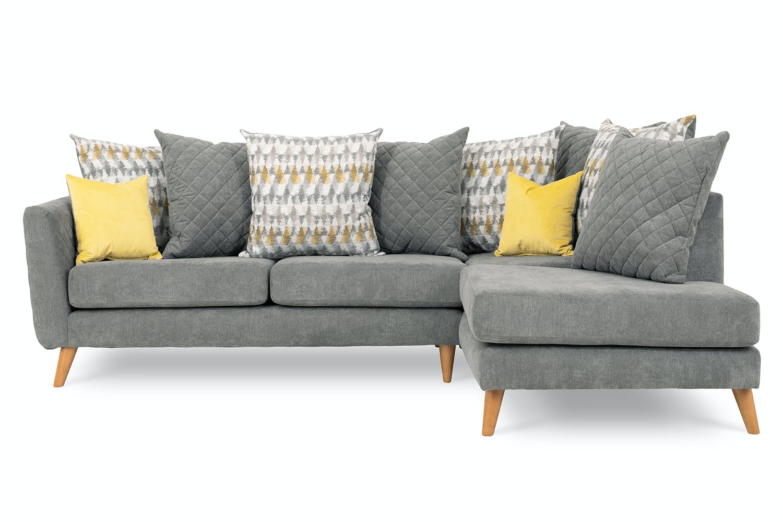 Lara Chaise Sofa Pillow Back