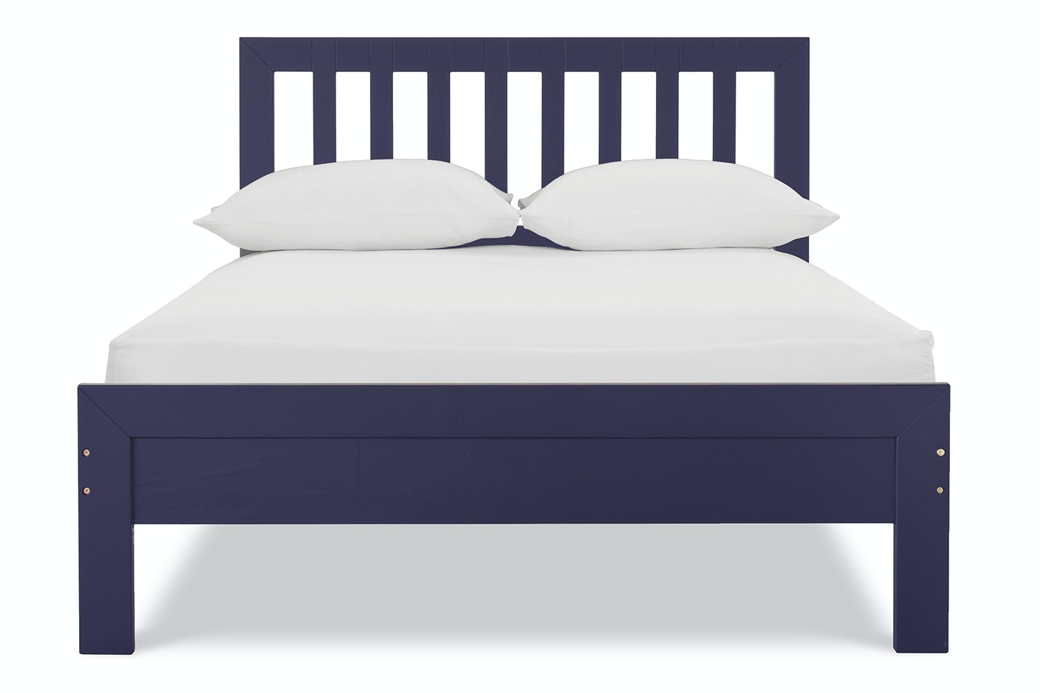 Archie Small Double 4ft Bedframe Midnight Blue Harvey Norman Ireland