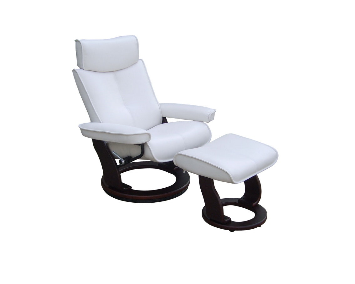 Captains Recliner White