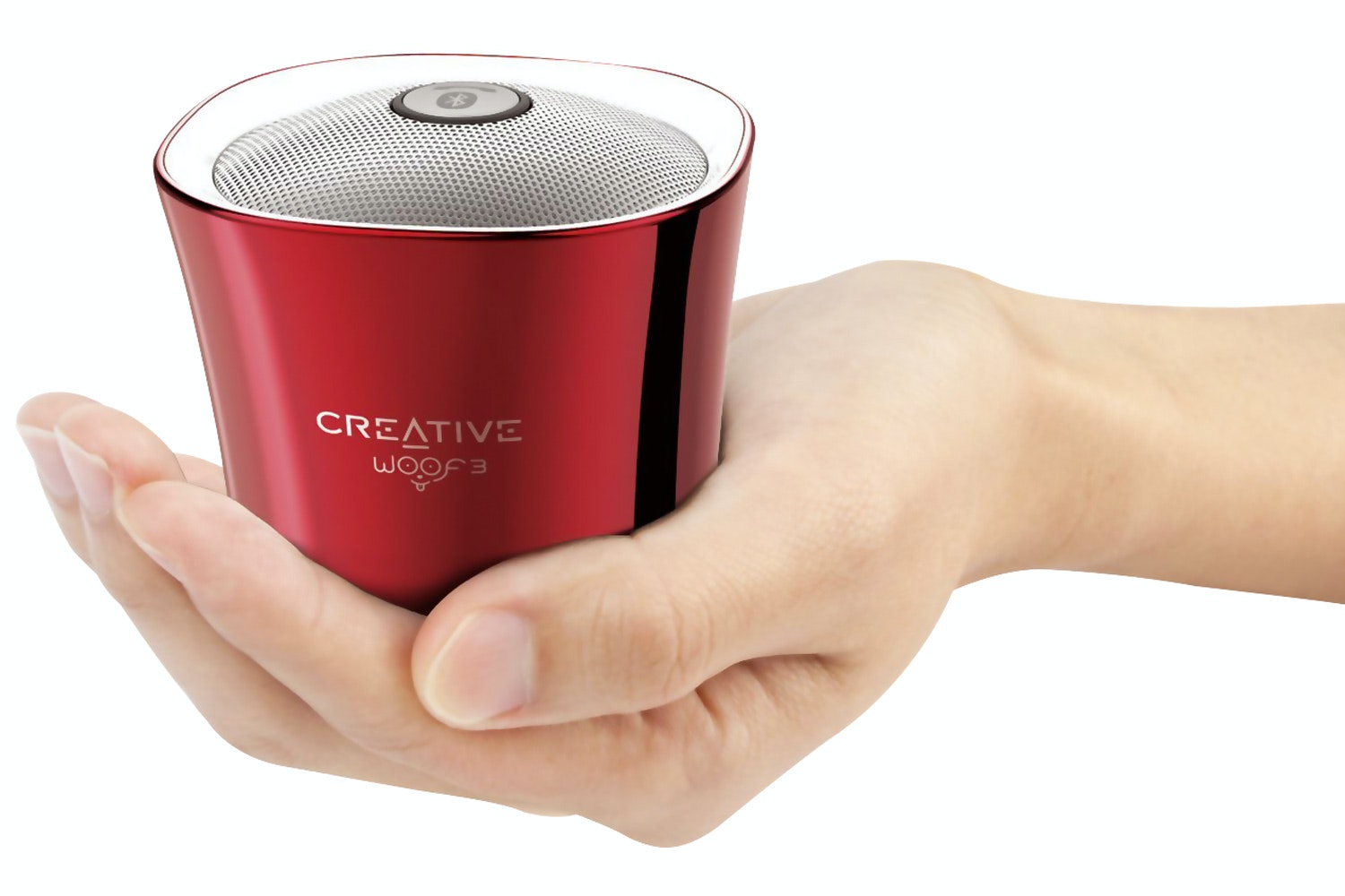 Creative Woof 3 Portable Wireless Bluetooth Speaker | Red