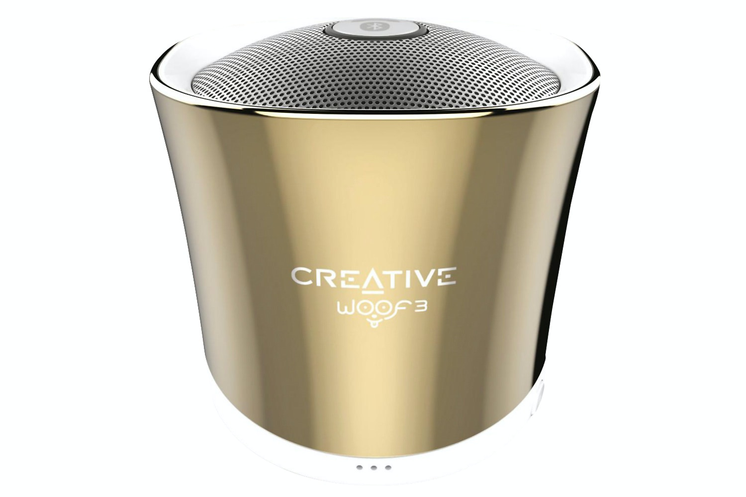 Creative Woof 3 Portable Wireless Bluetooth Speaker | Gold