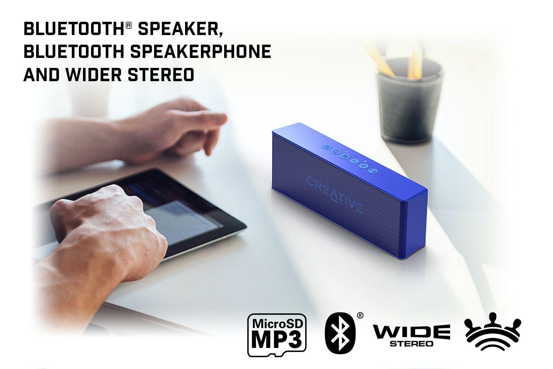 Creative Muvo 2 Bluetooth Speaker | Blue