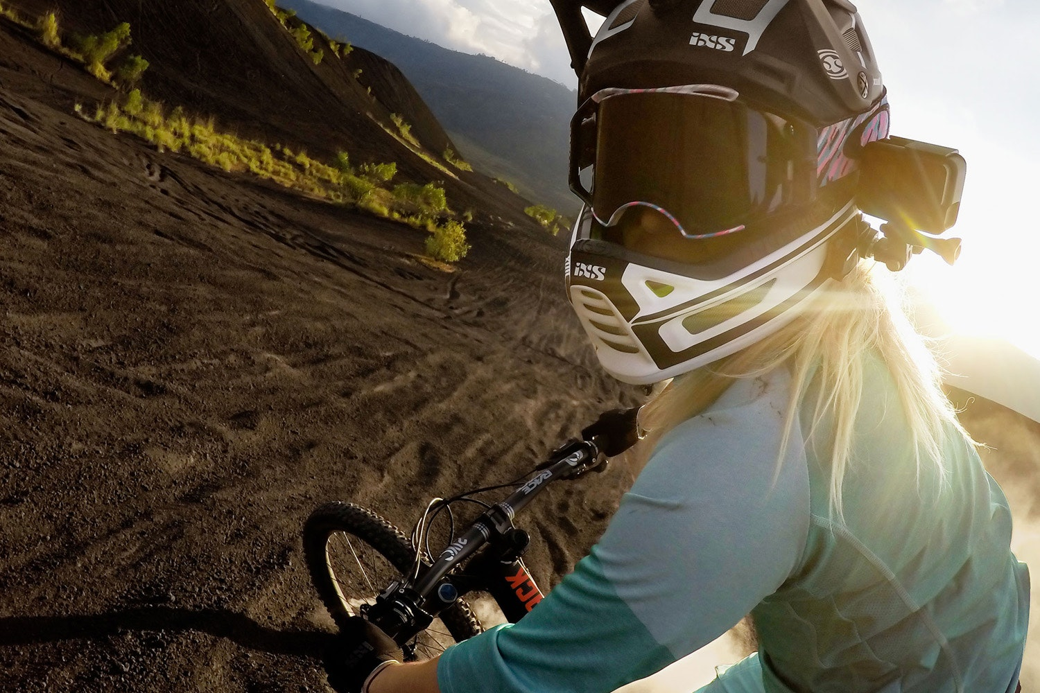 GoPro Helmet Front & Side Mount | Black