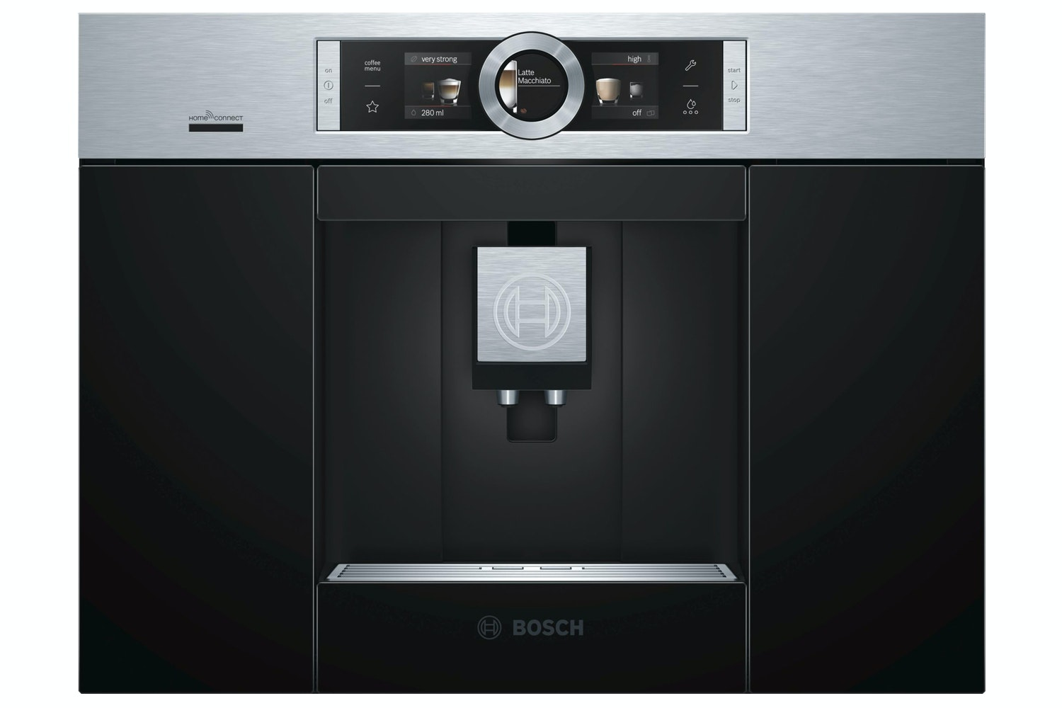 Bosch Fully Automatic Bean 2 Cup Coffee Machine | Black