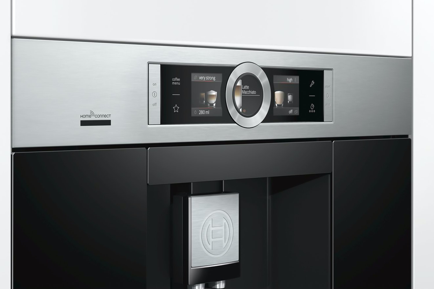 Bosch Fully Automatic Bean-to-Cup Coffee Machine Stainless Steel | CTL636ES6