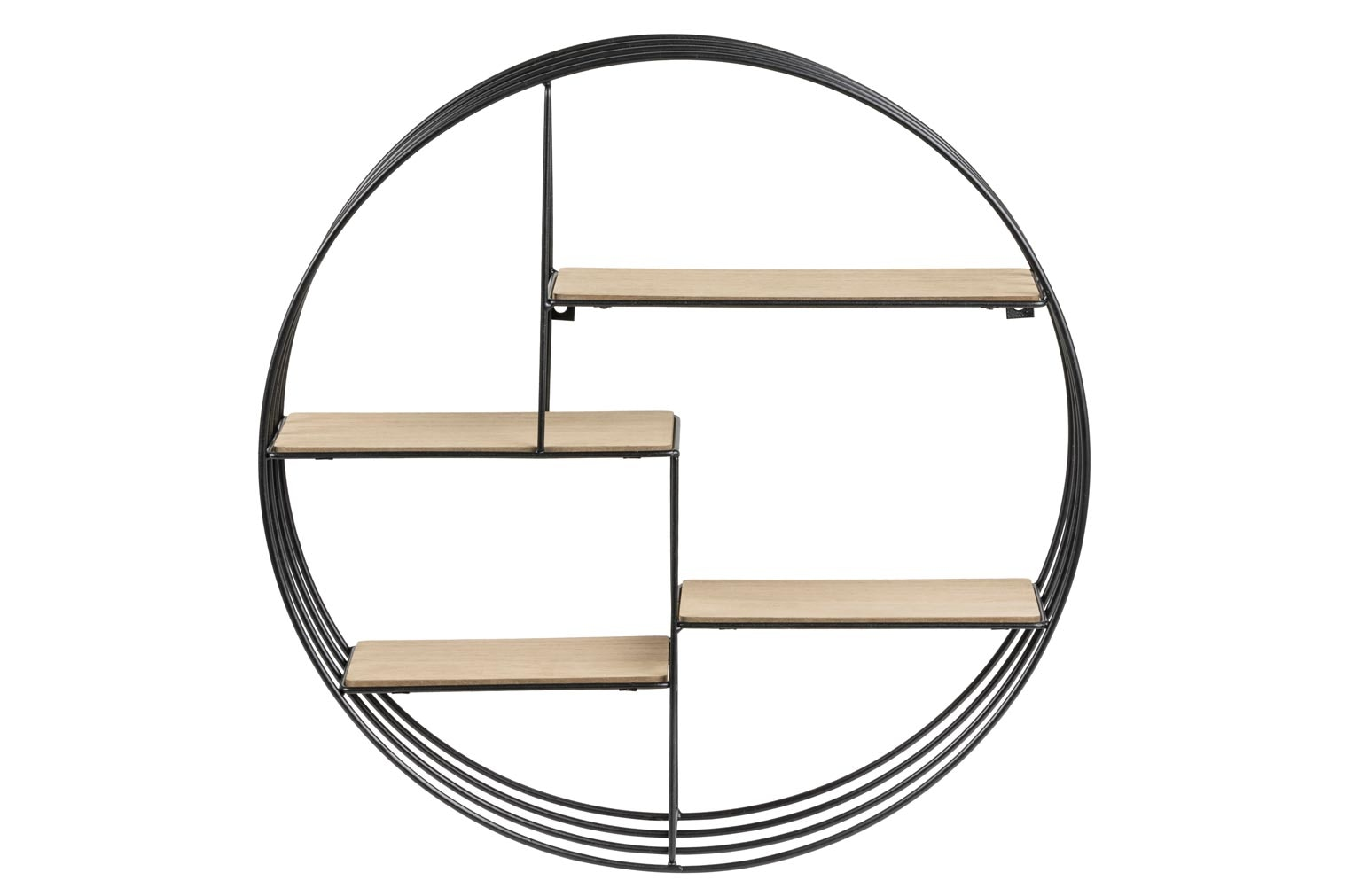Circular Wall Unit - Black
