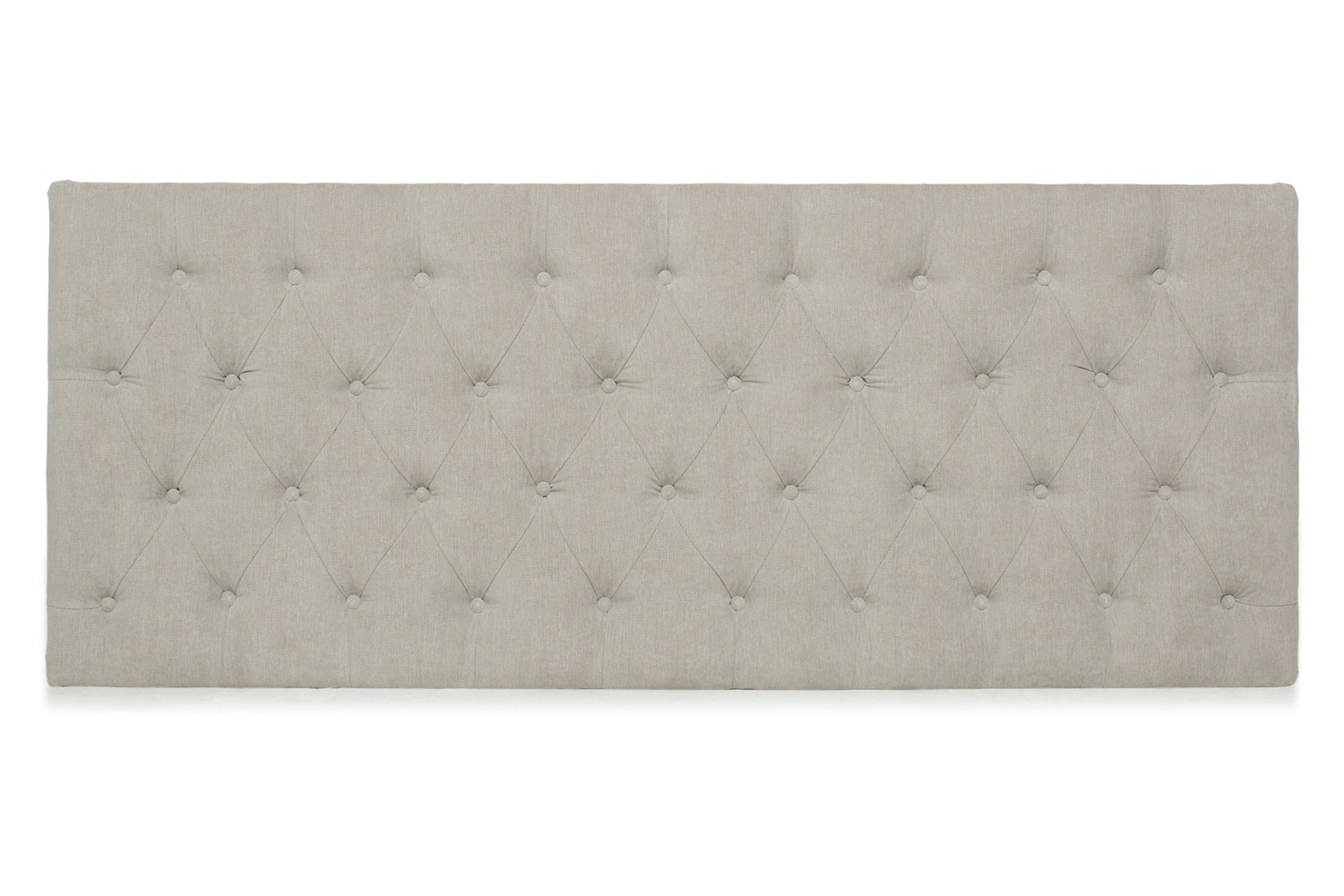 Marley Headboard | 4Ft6 | Silver