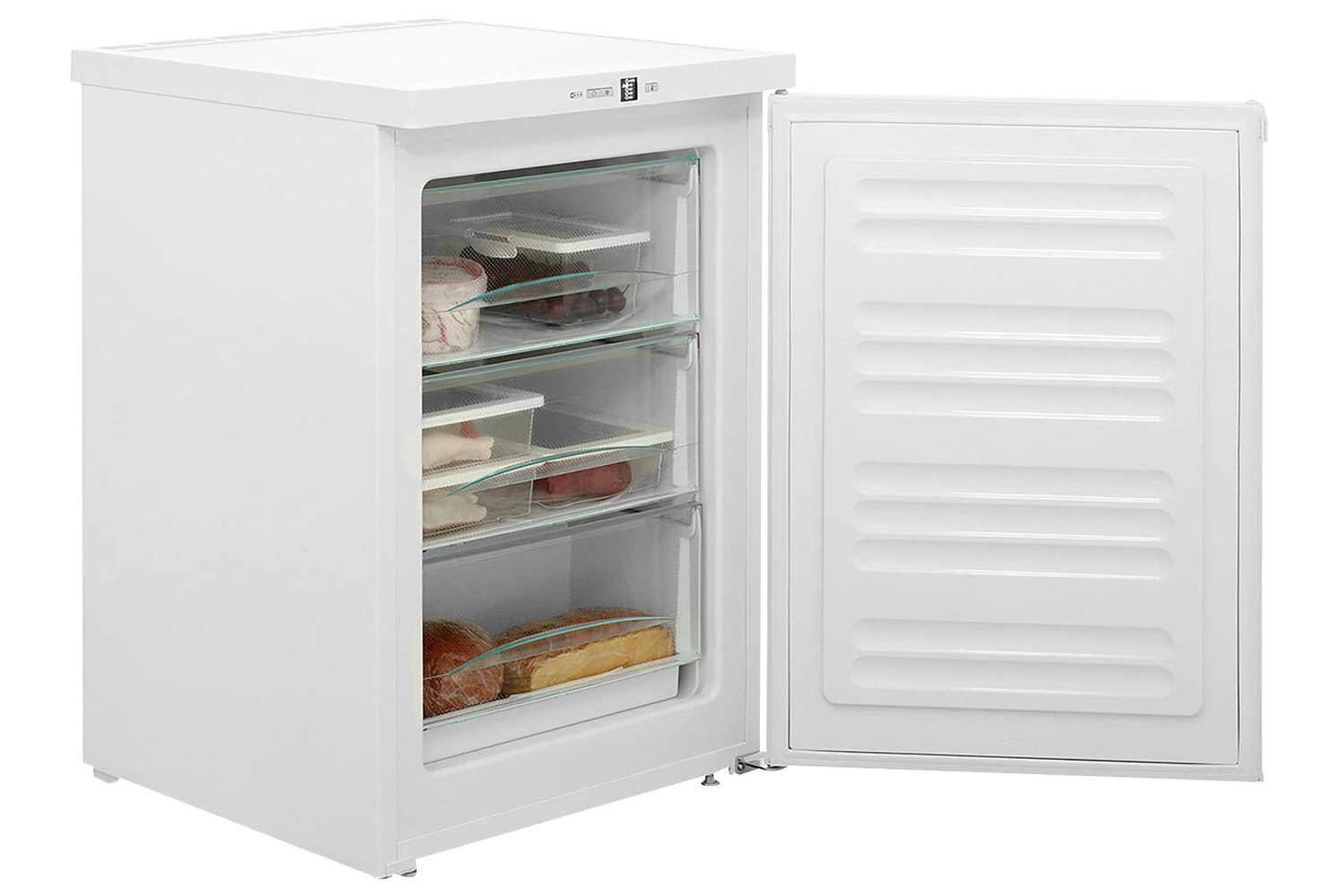 Miele F 12011 S-1  Freestanding freezer   For increased versatility thanks to three freezer drawers and VarioRoom