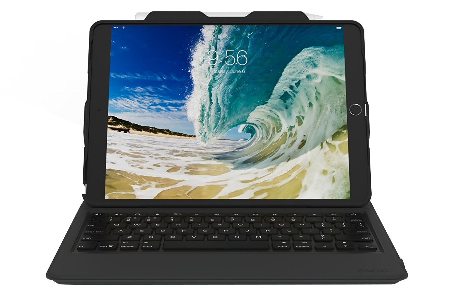 Zagg Rugged Messenger Keyboard Case For iPad Pro | Black