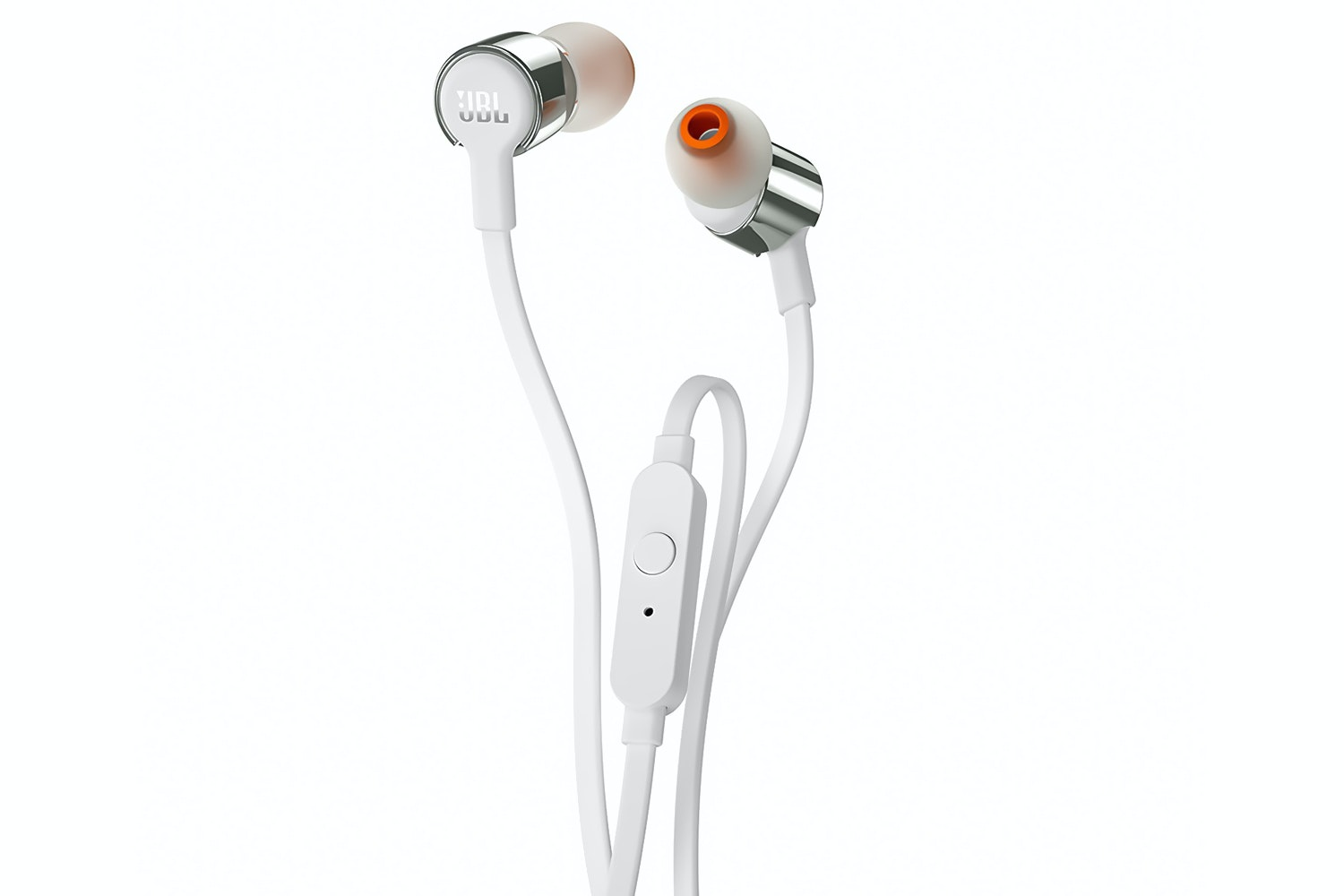 JBL T210 Pure Bass In-Ear Headphones | Gold