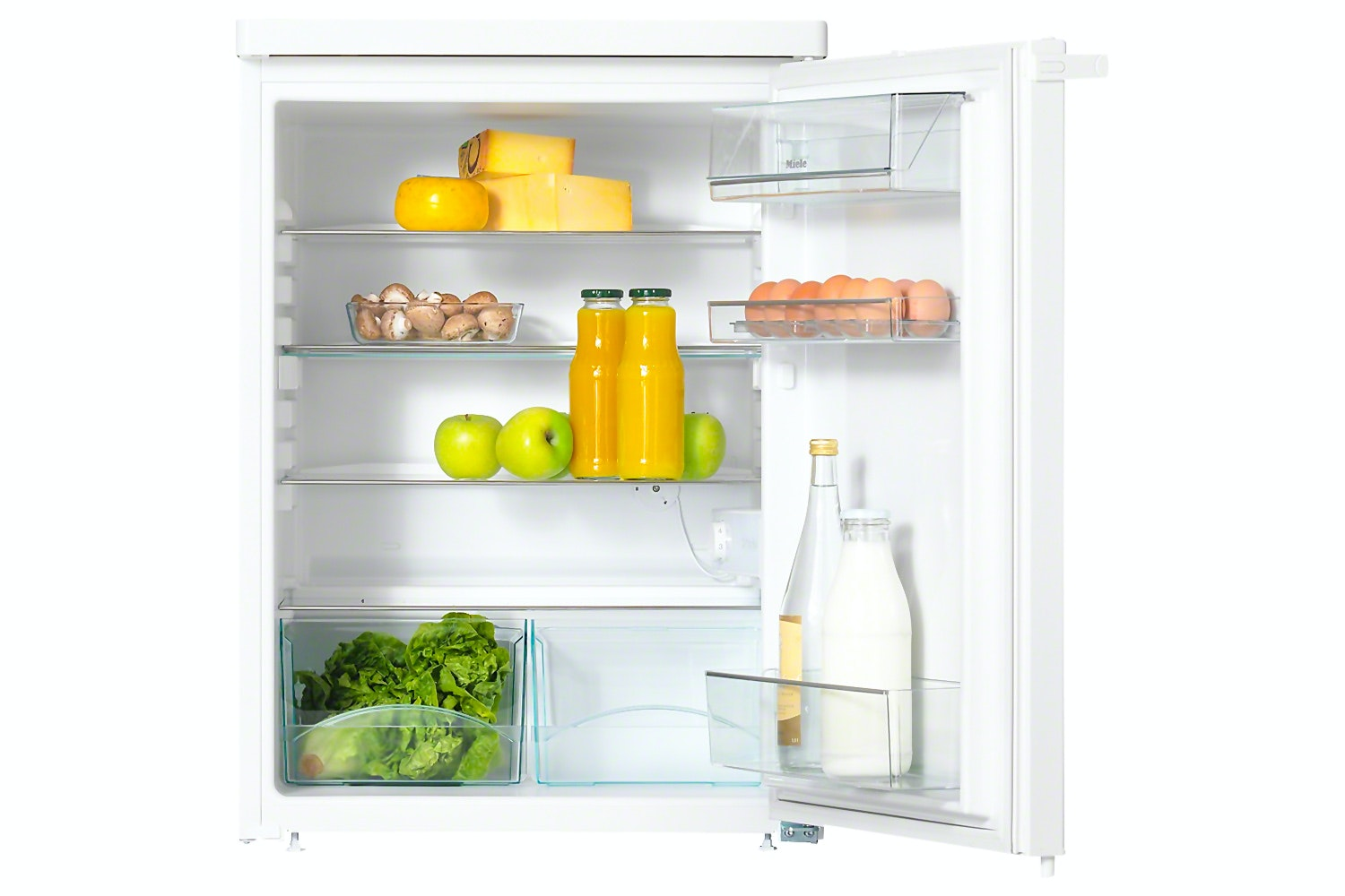 Miele K 12020 S-1  Freestanding refrigerator   with practical interior space, thanks to ComfortClean and adjustable shelves