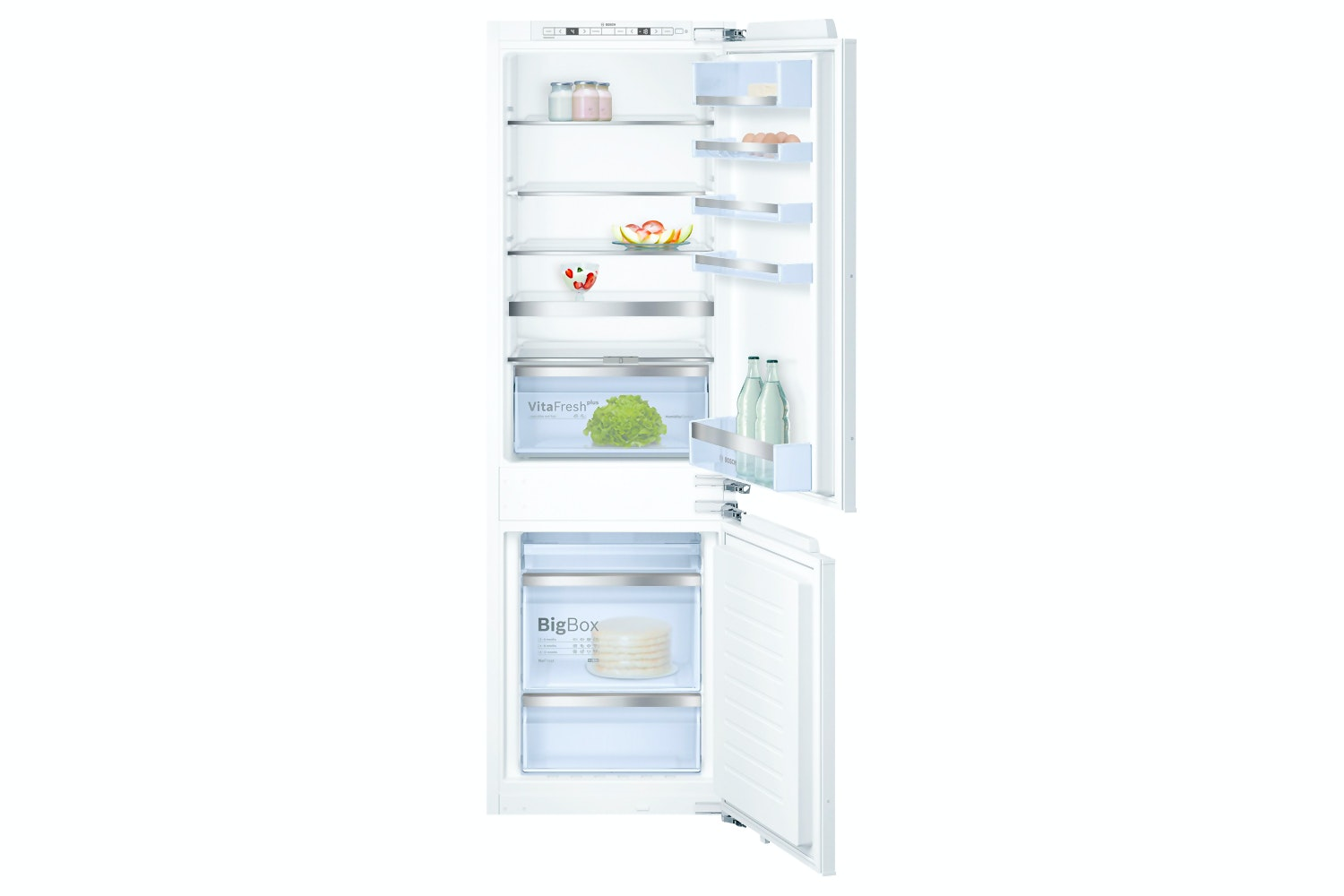 Bosch 70/30 Integrated Fridge Freezer | KIN86AD30G