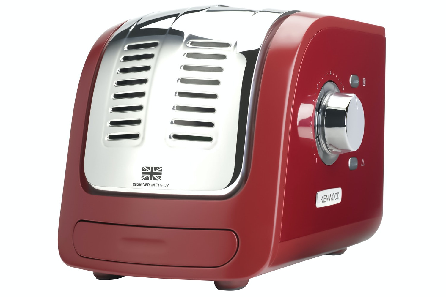 Kenwood Turbo 2 Slice Toaster | Red