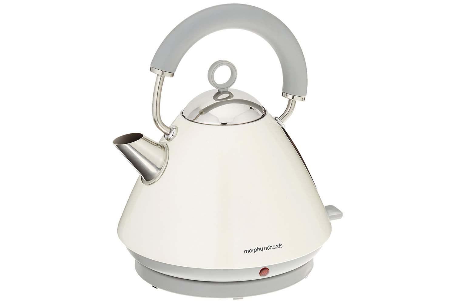 Morphy Richards Accents Pyramid White Kettle | 102031