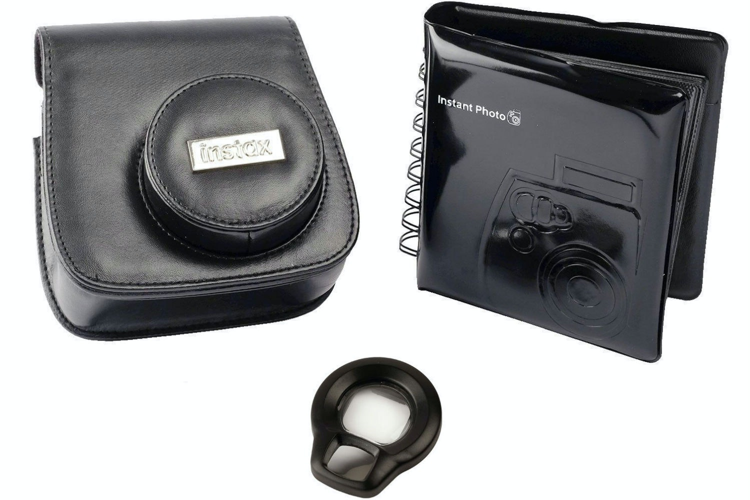 Fujifilm Instax Mini 8 Accessory Kit | Black